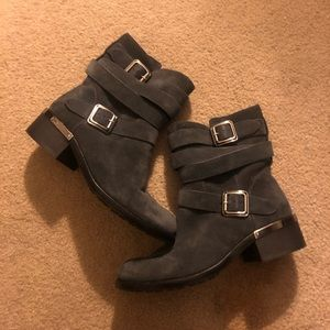 Vince Camuto Webey Moto Boots